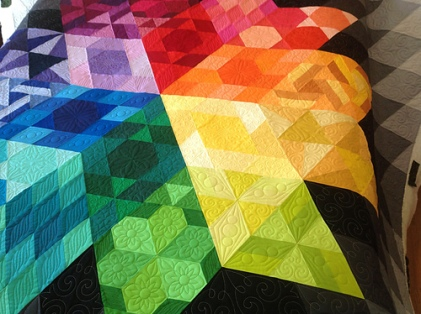 Gravity Quilt pattern by Jaybird Quilts. #GravityQuilt