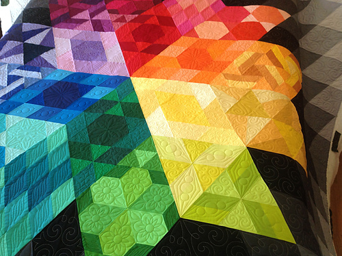 Gravity Quilt pattern by Jaybird Quilts. #GravityQuilt