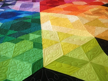 Gravity Quilt detail