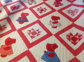 Sunbonnet Sue detail