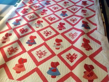 Sunbonnet Sue custom quilt