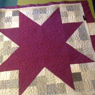 purple sawtooth star