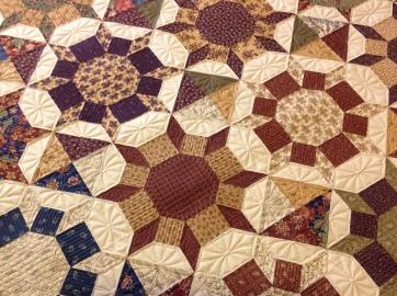 Shimmer quilt